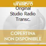 ORIGINAL STUDIO RADIO TRANSC. cd musicale di SHAW ARTIE