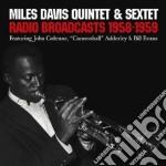 RADIO BROADCASTS 1958-'59 cd musicale di Miles Davis