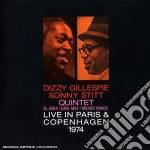 Dizzy Gillespie / Sonny Stitt - Live In Paris & Copenhagen 1974 cd musicale di Stit Gillespie dizzy