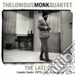 THE LAST CONCERTS                         cd musicale di Thelonious Monk