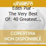 THE VERY BEST OF cd musicale di PIAF EDITH