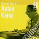 Karas Anton - The Very Best Of: 40 Greatest Hits cd musicale di KARAS ANTON