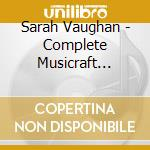 COMPLETE MUSICRAFT MASTER cd musicale di VAUGHAN SARAH
