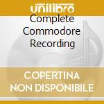 COMPLETE COMMODORE RECORDING cd musicale di HOLIDAY BILLIE