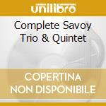 COMPLETE SAVOY TRIO & QUINTET cd musicale di SHEARING GEORGE