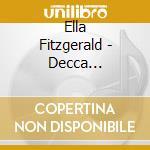 Ella Fitzgerald - Decca Recordings 1951-1952 cd musicale di FITZGERALD ELLA