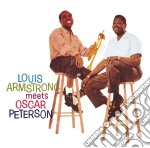 Louis Armstrong - Louis Armstrong Meets Oscar Peterson cd musicale di Louis Armstrong