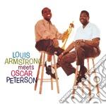 LOUIS ARMSTRONG MEETS OSCAR PETERSON      cd musicale di Louis Armstrong