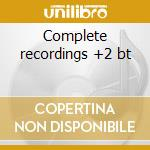 Complete recordings +2 bt cd musicale di Winton kelly trio