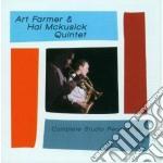 Art Farmer / Hal Mckusick - Complete Studio Recording cd musicale di Mckusick Farmer art