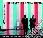 John Lewis / Sacha Distel - Afternoon In Paris cd musicale di Distel s Lewis john