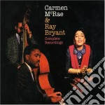 Carmen Mcrae / George Shearing - Complete Recordings cd musicale di Sheari Mcrae carmen