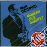Paul Desmond & Modern Jazz Quartet - Live In New York 1971 cd musicale di Modern Desmond paul