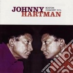 BOSTON CONCERT 1976 cd musicale di Johnny Hartman