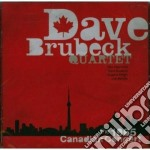 THE 1965 CANADIAN CONCERT cd musicale di Dave Brubeck