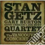 Stan Getz / Gary Burton - The Vancouver Concert 1965 cd musicale di Burton ga Getz stan