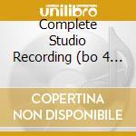 COMPLETE STUDIO RECORDING  (BO 4 CD) cd musicale di JIMMY GIUFFRE