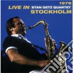 Stan Getz  - Live In Stockholm 1978 cd musicale di Getz stan quartet