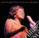 Sarah Vaughan - Live In Belgrade cd musicale di Her t Vaughan sarah