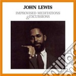 IMPROVISED MEDITATIONS & EXCURSIONS       cd musicale di John Lewis
