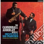 COMPLETE LIVE IN SAN FRANCISCO            cd musicale di Cannonball Adderley