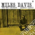 (LP VINILE) Miles davis and milt jackson quintet/sex lp vinile di Jackson m Davis m