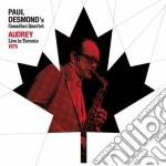 Paul Desmond - Audrey cd musicale di Paul Desmond
