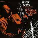 The president plays with the oscar peter cd musicale di Lester Young
