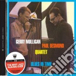 Gerry Mulligan / Paul Desmond - Blues In Time cd musicale di Desm Mulligan gerry
