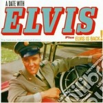 Elvis Presley - A Date With Elvis / Elvis Is Back! cd musicale di Elvis Presley