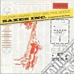 Coleman Hawkins / Zoot Sims / Phil Woods - Saxes Inc. / Trombone Scene cd musicale di Sim Hawkins coleman