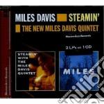 Miles Davis - Steamin' / The New Miles Davis Quintet cd musicale di Miles Davis