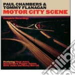 Paul Chambers / Tommy Flanagan - Motor City Scene - Complete Recordings cd musicale di Flanagan tommy Chambers paul