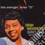 Dinah Washington / Quincy Jones - The Swingin' Miss D cd musicale di Jo Washington dinah