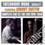 Complete live at the five spot 1958 cd musicale di Thelonious Monk