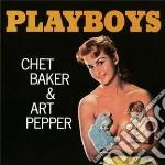 Chet Baker / Art Pepper - Playboys cd musicale di Pepper a Baker chet