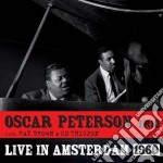 Oscar Peterson - Live In Amsterdam 1960 cd musicale di Oscar Peterson