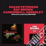 Bursting out (+ with the all star band) cd musicale di Brow Peterson oscar