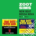 New beat bossa nova vol 1 & 2 cd musicale di Sims Zoot