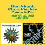 Bud Shank / Claire Fischer - Bossa Nova Jazz Samba / Brasamba cd musicale di Fischer c Shank bud