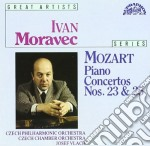 Mozart Wolfgang Amadeus - Concerto X Pf N.23 K 488, N.25 K 503  - Vlach Josef Dir  /ivan Moravec Pf, Orchestra Filarmonica Ceca cd musicale di Wolfgang Amadeus Mozart