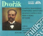 RAPSODIA SLAVA N.1, N.2, N.3 OP.45, MY H cd musicale di Antonin Dvorak
