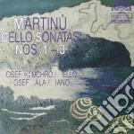 Martinu Bohuslav - Sonata X Vlc E Pf N.1 > N.3  - Chuchro Josef  Vc/josef Hala Pf. cd musicale di Bohuslav Martinu