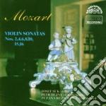 SONATA X PF E VL N.2 K.7, N.4 K 9, N.15 cd musicale di Wolfgang Amadeus Mozart