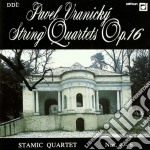 Wranitzky Anton - Quartetto X Archi N.4, N.5, N.6 Op.16  - Stamic Quartet cd musicale di Anton Vranicky