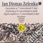Zelenka Jan Dismas - Ouverture A 7 Concertanti Zwv 188, Sinfonia A 8 Concertanti Zwv 189, Hypocondria /orchestra Da Camera Suk cd musicale di ZELENKA JAN DISMAS