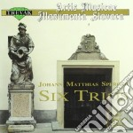 Sperger Johannes Matthias - Trio X Oboe N.1 E 6, Trio X Fl N.2 E 5,trio X Vl N.3 E 4  - Alexander Juraj  Vc/milos Jurkovic Fl, Viktor Simcisko Vl, Vla cd musicale di SPERGER JOHANNES MAT