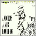 QUINTETTO X FL, VL, 2 VLA, VLC N.1, 2 E cd musicale di ROMBERG ANDREAS JAKO