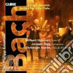 Flute sonatas cd musicale di Bach