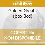 GOLDEN GREATS (BOX 3CD) cd musicale di VALENTE CATERINA